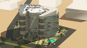 office building revit model