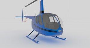 3D model r44 r 44
