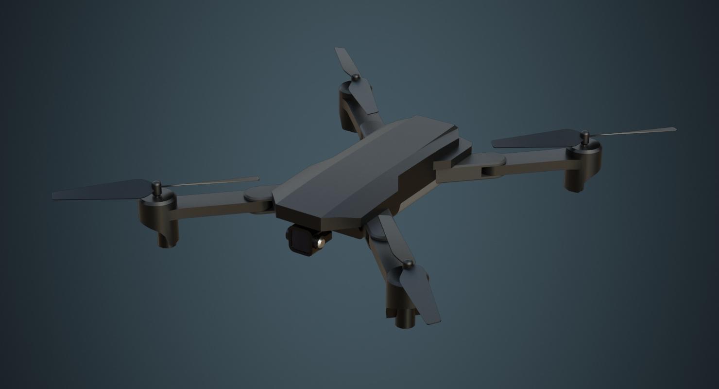 3D model quadcopter quad copter