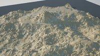 3D rocky desert
