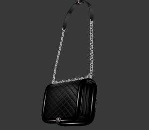 3D hand bag chain model