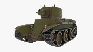 3D bt-7a bt-7 model