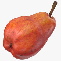 william pear red ready 3D model