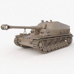 3D tank k18 auf panzer model