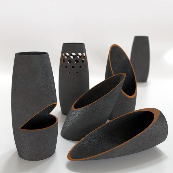 3D designed ceramics model