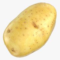 potato clean ready 05 3D model
