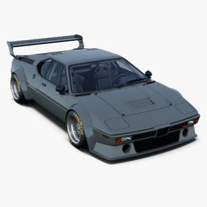 classic race car italdesign 3D