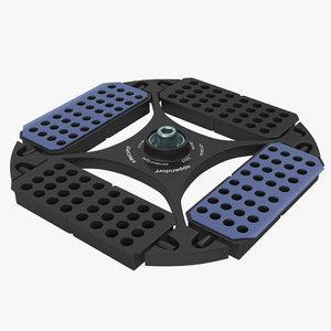 3D eppendorf centrifuge rotor