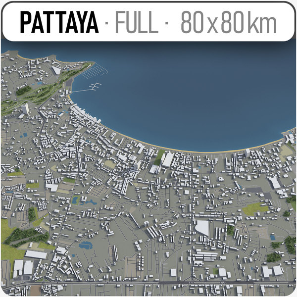3D pattaya surrounding -