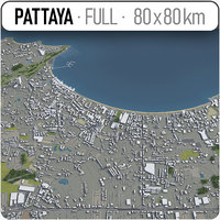 3D pattaya surrounding -
