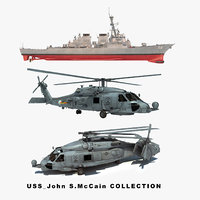 USS John S. McCain Collection