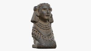 chalchiuhtlicue goddess water 3D