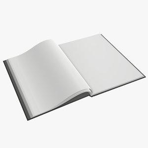 album opened a4 model