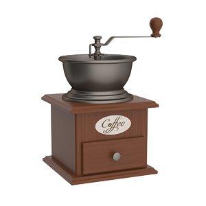 coffee grinder 3D