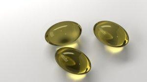 medicine pill 10 3D model