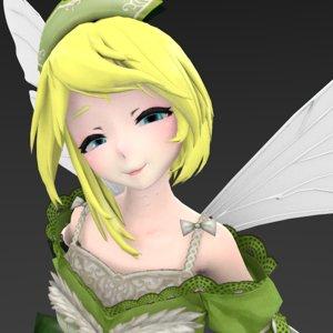 fairy creature 3D model