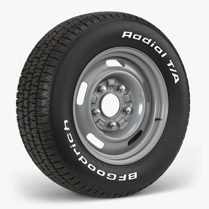 bfgoodrich gm rally 3D