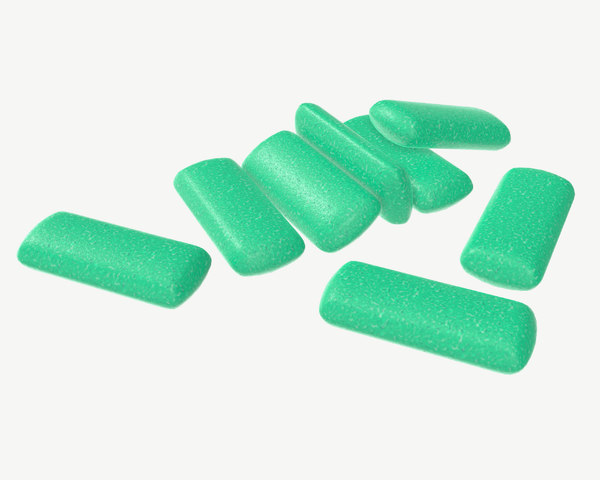 3D model gum chewing