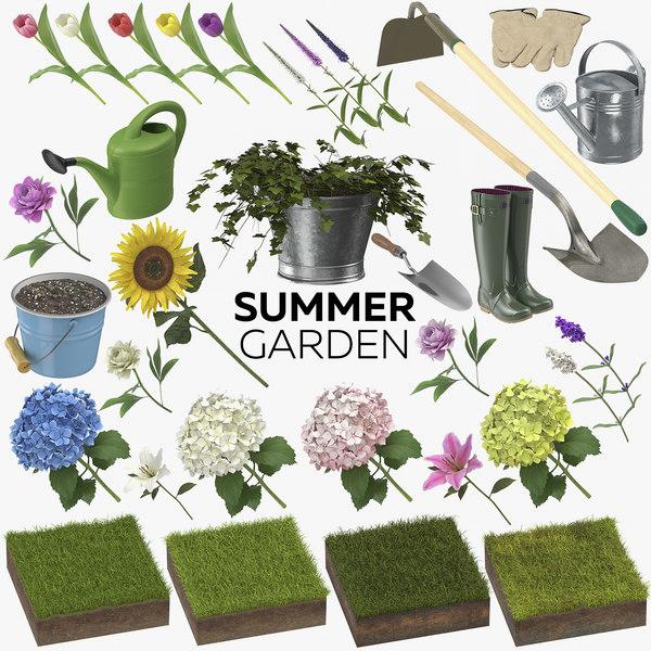 summer garden 33 products model