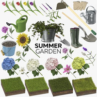 summer garden 33 products model