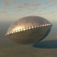 alien building 3D model