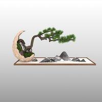 tree nature pine 3D