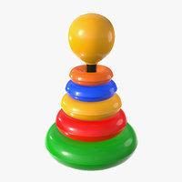 pbr color 3D model