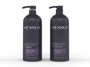 3D nexxus keraphix damaged hair