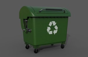 garbage container model