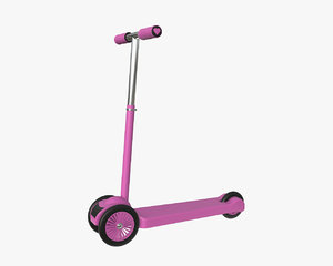 3D model scooter child