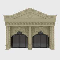 classic building model