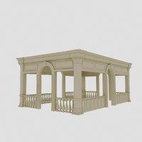 3D classical camellia model