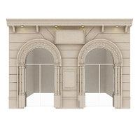 classic building 3D