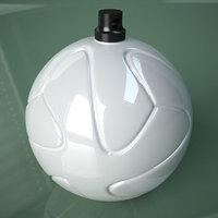3D Printable Soccer Bazooka Ball Ornament