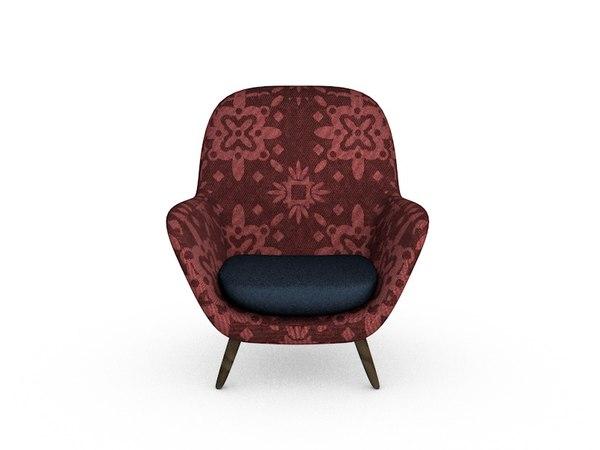 3D chair sofa model