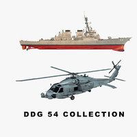 uss helicopter 3D