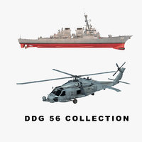 uss helicopter 3D model