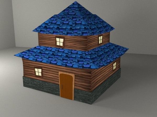 3D model fantastic home