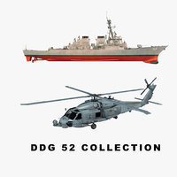 3D uss helicopter model