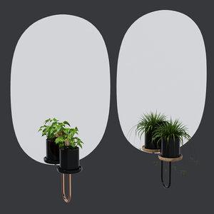 cigales mirrors 3D model