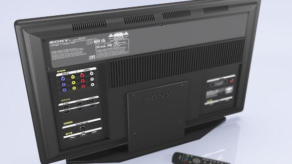 tv sony remot 3D model