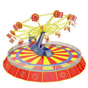 3D carnival twister