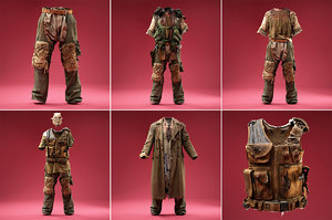 3D model clothing outfits