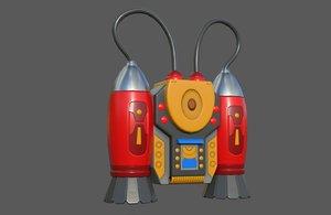 games jetpack 3D model