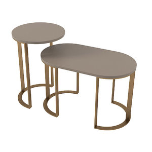 milldue table set 3D model