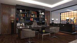 office nterior design model