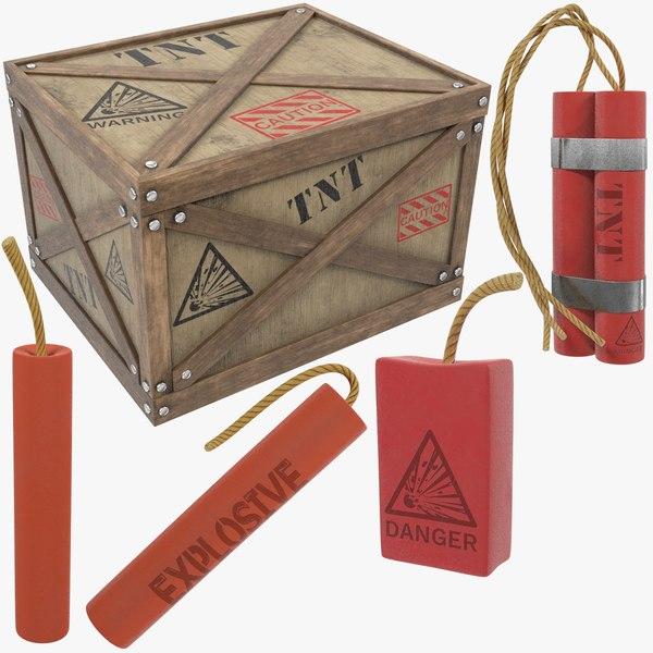 tnt v4 3D model