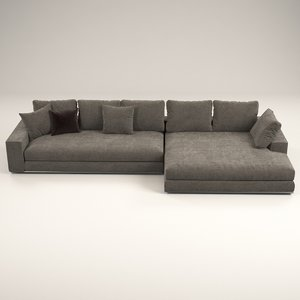 3D model lame sofa design