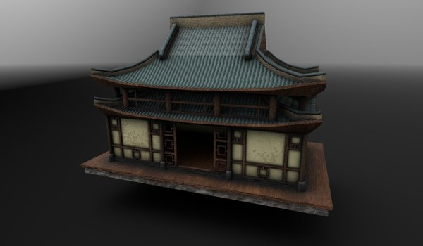 asian house 3D