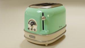ariete vintage toaster 3D model
